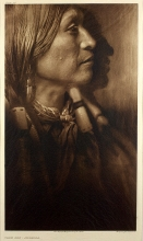 Edward S. Curtis' The North American Indian (photographs on tissue paper