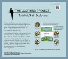 Lost Bird Project at the Smithsonian Gardens