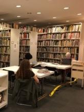HMSG Library Reading Area