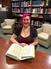 Alexandra Newman with Naturalis Historia