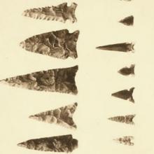 "arrowheads or ""points"""