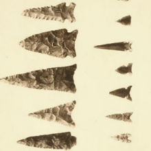 "arrowheads or ""points"""