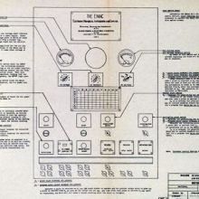 wiring diagram of the ENIAC computer