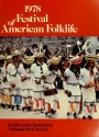 Cover of 1978 Festival of American Folklife