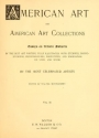 "Cover of ""American art and American art collections"""