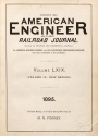 Cover of American engineer and railroad journal v.69 (1895)