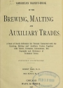 """Cover of """"American handy-book of the brewing, malting and auxiliary trades"""""""