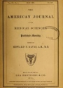 """Cover of """"The American journal of the medical sciences"""""""