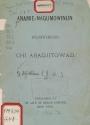 Cover of Anamie-nagumowinun wejibwemodjig chi abadjitowad