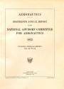 Cover of Annual report - National Advisory Committee for Aeronautics