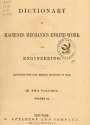 """Cover of """"Appleton's dictionary of machines, mechanics, engine-work, and engineering"""""""