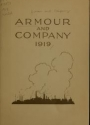 """Cover of """"Armour and Company, 1919"""""""