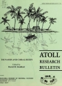 """Cover of """"Atoll research bulletin"""""""
