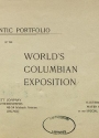 "Cover of ""Authentic portfolio of the World's Columbian Exposition"""