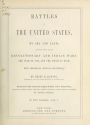 """Cover of """"Battles of the United States, by sea and land"""""""