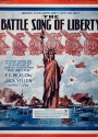 """Cover of """"The battle song of liberty /"""""""