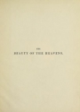 """Cover of """"The beauty of the heavens"""""""