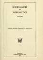 "Cover of ""Bibliography of aeronautics"""