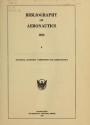 "Cover of ""Bibliography of aeronautics /"""