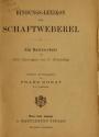 """Cover of """"Bindungs-Lexikon für Schaftweberei"""""""
