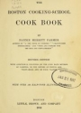 "Cover of ""The Boston cooking-school cook book"""