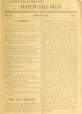 """Cover of """"Boston & Maine railroad men"""""""
