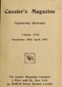 """Cover of """"Cassier's magazine"""""""