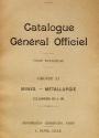 Cover of Catalogue général officiel t. 13