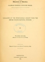 """Cover of """"Catalogue of the ethnological exhibit from the United States National Museum /"""""""