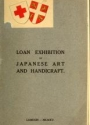 "Cover of ""Catalogue of the loan exhibition of Japanese works of art and handicraft from English collections, held from October 14th to November 13th"""