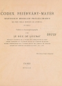Cover of Codex Fejérváry-Mayer