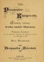 "Cover of ""Das Posamentier-Kunstgewerbe"""