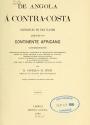 """Cover of """"De Angola á contra-costa"""""""