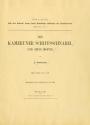 """Cover of """"Der kameruner Schiffsschnabel und seine Motive /"""""""