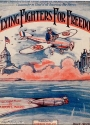 """Cover of """"Flying fighters for freedom"""""""