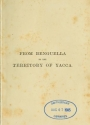 """Cover of """"From Benguella to the territory of Yacca"""""""