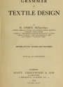 Cover of Grammar of textile design