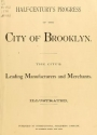Cover of Half-century's progress of the city of Brooklyn