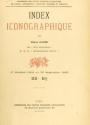 "Cover of ""Index bibliographique"""