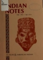 """Cover of """"Indian notes"""""""
