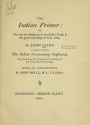 Cover of The Indian primer, or, The way of training up of our Indian youth in the good knowledge of God