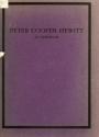 """Cover of """"In memoriam of Peter Cooper Hewitt"""""""