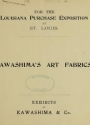 "Cover of ""Kawashima's art fabrics"""