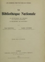 "Cover of ""La Bibliothèque nationale"""
