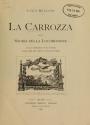 """Cover of """"La carrozza nella storia della locomozione"""""""