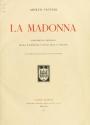 """Cover of """"La madonna"""""""
