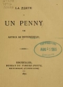 Cover of La poste à un penny