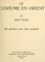Cover of Le costume en Orient