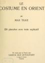 Cover of Le costume en Orient