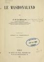 Cover of Le Mashonaland
